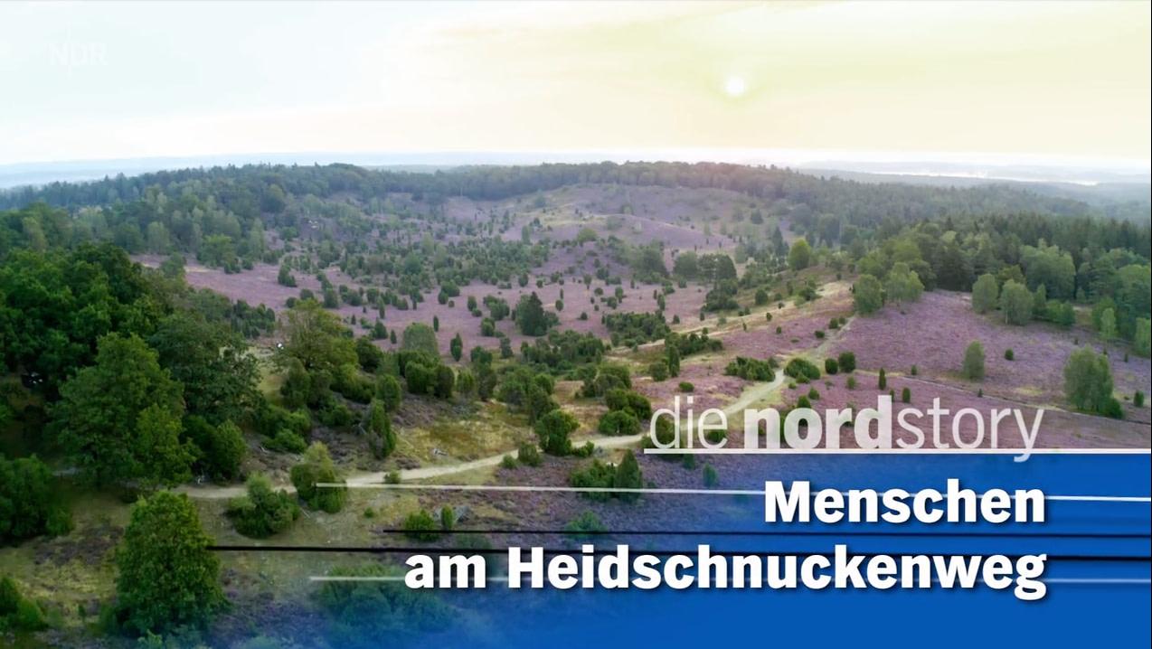 NDR Beitrag zum Heidschnuckenweg