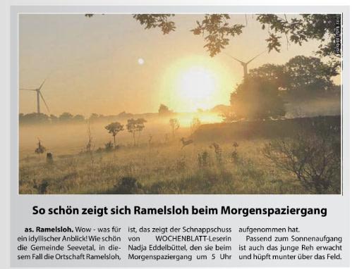 Ramelsloher Morgenstimmung